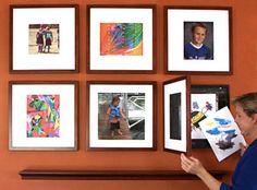 picture frames + storage