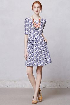 Elizabeth Zebra Dress #anthropologie