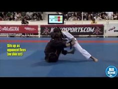 BJJ Scout: Michelle Nicolini Guard Study Part 1: Shin-on-Shin Sit up Sweep - YouTube