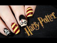 Harry Potter Nails   NailsByErin - YouTube