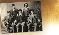 """, Texas. When the Pinkerton National Detective Agency got wind of this Wild Bunch Gang photo, taken in 1900, the Pinkertons printed the mugshots on wanted posters that circulated across the West: (from left) Harry """"Sundance Kid"""" Longabaugh, Will """"News"""" Carver, Ben """"Tall Texan"""" Kilpatrick, Harvey """"Kid Curry"""" Logan and Robert """"Butch Cassidy"""" Parker."""