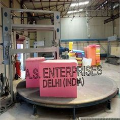 We are manufacturer, supplier and exporter of Carousel Foam Cutting Machine from Delhi, India.