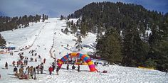 Snow Festival in Swat attracts the Tourists