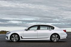 The 2017 BMW 7 Series is the featured model. The 2017 BMW 7 Series M Sport image is added in the car pictures category by the author on May Bmw Serie 7, Bmw 7 Series, Jaguar, Bmw White, Toyota, Bmw Performance, 2017 Bmw, Mercedes Car, New Bmw