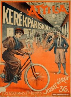 Have it on my wall.one of the best gifts ever :) Retro Advertising, Vintage Advertisements, Vintage Ads, Vintage Posters, Retro Ads, Retro Bicycle, Bicycle Art, Budapest, Bike Illustration