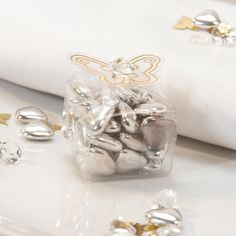 Clear Butterfly Wedding Favour Boxes