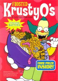 Krusty-O's is a brand of the breakfast cereals endorsed by Krusty the Clown which prominently features his likeness on the box. Cartoon Wall, Cartoon Posters, Cool Posters, Bedroom Wall Collage, Photo Wall Collage, Picture Wall, Vintage Cartoons, Vintage Posters, Cartoons Magazine