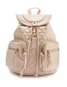 Quilted Mini Backpack: Charlotte Russe