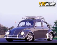 Purple VW Bug 1970 in California:)