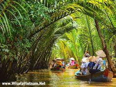 Sungai Mekong - Delta Mekong - Vietnam
