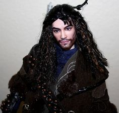 OOAK Kili Dwarf Repaint Custom Barbie Ken Doll Hobbit Lord of The Rings | eBay