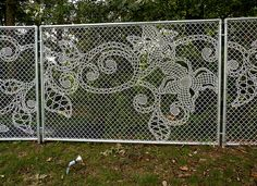 Lace Fence Designs