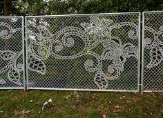 Lace Fence Designs