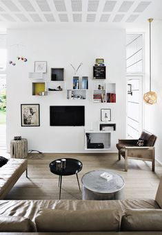 Top Tier Design Ideas by Tom Dixon for the Family Room. Home Living Room, Living Spaces, Estilo Interior, Appartement Design, Living Comedor, My Ideal Home, Contemporary Interior, Beautiful Interiors, Style At Home