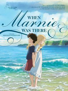 Póster americano de When Marnie Was Here.