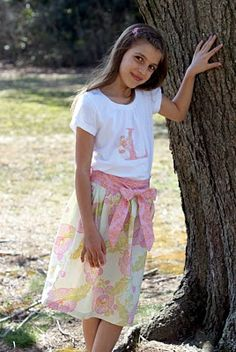 diy skirt for girls or toddlers