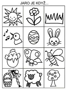 Drawing Tutorials For Kids, Drawing For Kids, Easter Activities For Kids, Crafts For Kids, Alphabet Activities, Worksheets For Kids, Baby Play, Paper Toys, Spring Crafts