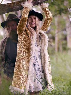 Free People My Beloved Georgette Dress