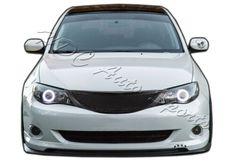 For 2008-2010 Subaru Impreza WRX JDM Front Hood Carbon Style Mesh Grill Grille   eBay