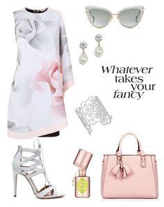 """Fancy Girl!"" by schenonek on Polyvore featuring moda, Ted Baker, Benefit, Aquazzura, Dita y Kate Spade"