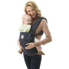 CANGURU - ORIGINAL COLLECTION - INDIGO MINTS DOTS - ERGOBABY
