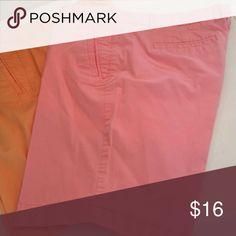 J.Crew bermuda shorts 10 inch inseam blush pink J. Crew Shorts