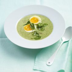 Lauch-Spinat-Cremesuppe