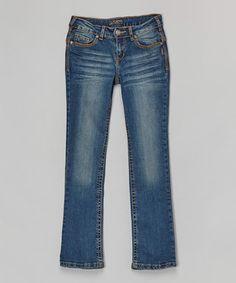 Dark Wash Tammy Bootcut Jeans - Girls