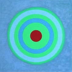 Mysteries: Primal Blue, Kenneth Noland There are a lot of Kenneth Noland paintings in Greenville Art Museum, North Carolina Josef Albers, Kenneth Noland, Elements Of Color, Concrete Art, Colour Field, Light Painting, Diy Wall Art, Room Paint, Op Art