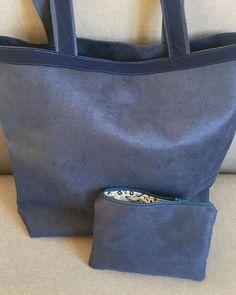 Création couture 🧵 sur Instagram: Grand sac cabas et ses 2 pochettes 🧵 #couture #sac #NHBNantes #pochettes #cousumain #saccabas #nhbcreation @patrons_sacotin