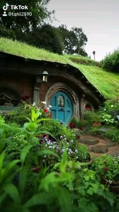 Earth Sheltered Homes, Silo House, Fantasy Places, Sky Aesthetic, Beautiful Places To Travel, Fairy Houses, Middle Earth, Amazing Destinations, Tolkien
