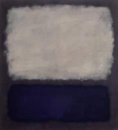 Mark Rothko - Blue and Gray, 1961