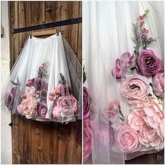 19 Trendy Ideas For Flowers Girl Ideas Tulle Skirts Diy Fashion, Ideias Fashion, Fashion Dresses, Fashion Shirts, Fashion 2018, Spring Fashion, Virtual Fashion, Fashion Design, Fashion Kids