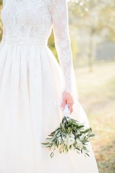 A Italian Destination Wedding In Tuscany with a Katya Katya Shehurina dress. - Image by M&J Photography