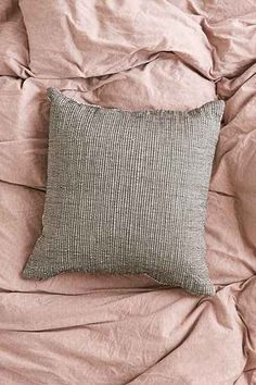 4040 Locust Shadow Stripe Pillow - Urban Outfitters