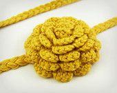 Crochet Headband Baby Hair Accessory