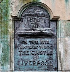 Hidden historical gems of Liverpool. Site of the Castle of Liverpool on Castle Street Photo by Gavin Trafford. Liverpool Fc, Liverpool History, Liverpool England, Manchester City, Manchester United Old Trafford, Tottenham Hotspur, Chelsea Fc, Uk History, Local History