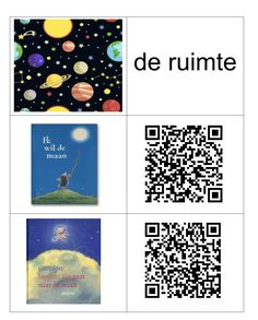 QR -codes thema De ruimte Qr Codes, 5 Year Olds, Apps, Coding, School, Space, Astronauts, Planets, Schools