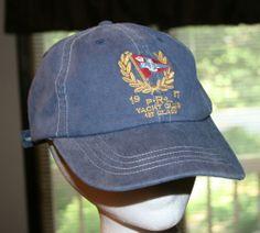 Polo Ralph Lauren 1967 PRL Yacht Club 1st Class Cap baseball Hat-Men's size-sewn #PoloRalphLauren #BaseballCap
