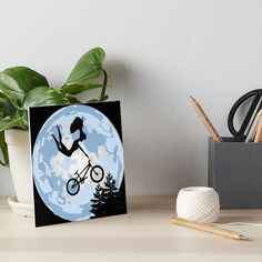 Bike Art, Bmx, Art Boards, Barbie Dolls, Bookends, My Arts, Art Prints, Cool Stuff, Printed