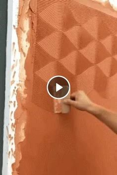 Watch the video and get lol and omg emotions at lolandomg com Family Tree Wall Decor, Diy Wall Decor, Diy Home Decor, Creative Wall Painting, Creative Walls, Accent Wall Bedroom, 3d Wall Panels, Textured Walls, Wall Colors