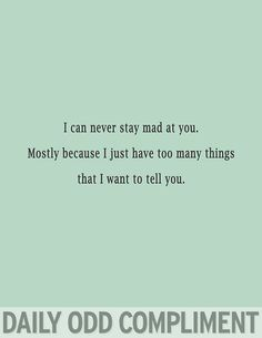 daily odd compliment miss you - Google Search