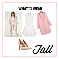 """""""What To Wear"""" by aziz-reyan ❤ liked on Polyvore featuring J.O.A. and Salvatore Ferragamo"""