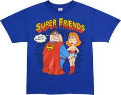 Family Guy Peter and Lois Super Friends T-Shirt, http://www.amazon.com/dp/B005R4KLYY/ref=cm_sw_r_pi_awd_Michsb0NYK6M7