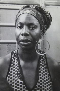 Nina Simone - Rock & Roll Hall of Fame Induction nominee - photographed circa 1969Classic Ladies of Color