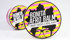New Natural Hair Products: BONITA AFRO BALM Texture Defining Cream, For Smart Chicks With Real Hair- www.thedoux.com
