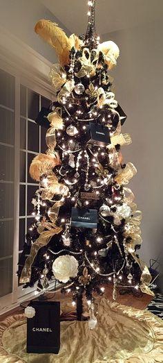 Chanel Christmas tree