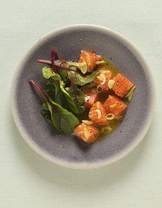 Saumon mariné, vinaigrette PassionVous imaginiez un repas de la Saint-Valentin sans fruit de la passion… Sérieusement ?> Lire la recette...