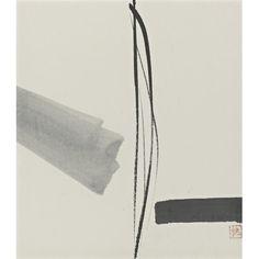 "Style ""Ink and wash painting"" - artist Toko Shinoda"