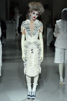 Thom Browne Spring 2014 Ready-to-Wear Collection - Vogue Couture Fashion, Runway Fashion, High Fashion, Fashion Show, Fashion Design, Women's Fashion, Thom Browne, Vogue, Review Fashion
